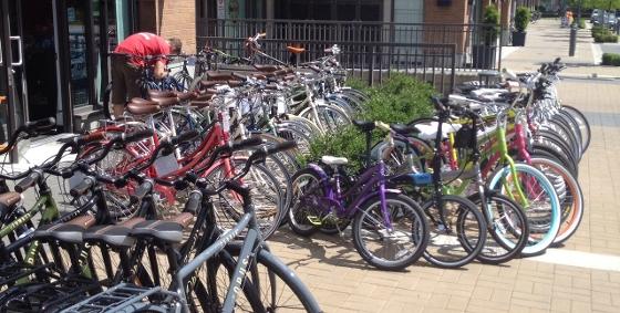 Wesbrook Village homes bike shop