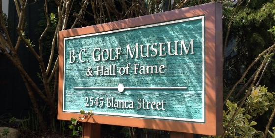 BC Golf Museum at UBC